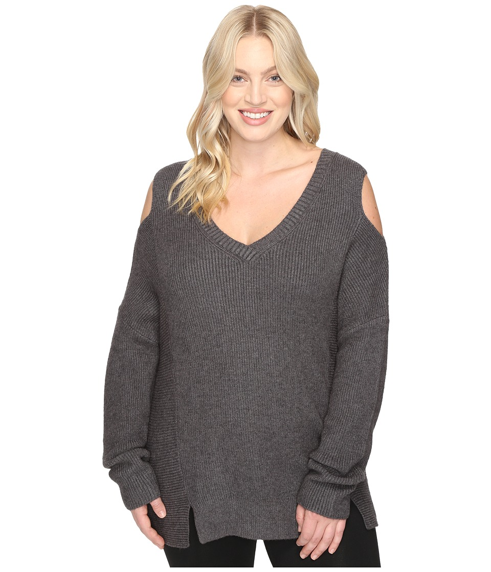 Lysse - Plus Size Riley Sweater (Charcoal) Women's Sweater