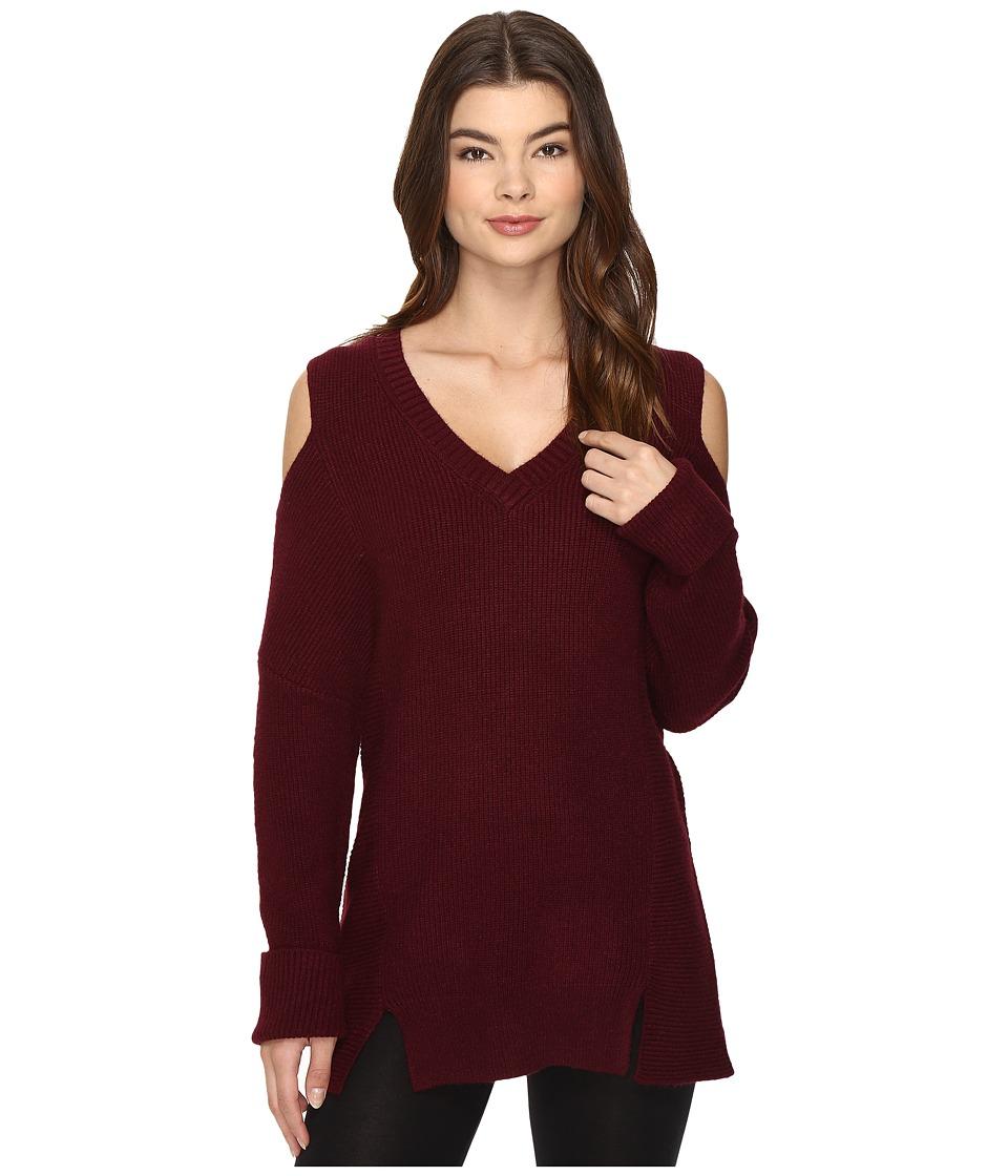 Lysse - Riley Sweater (Wine) Women's Sweater