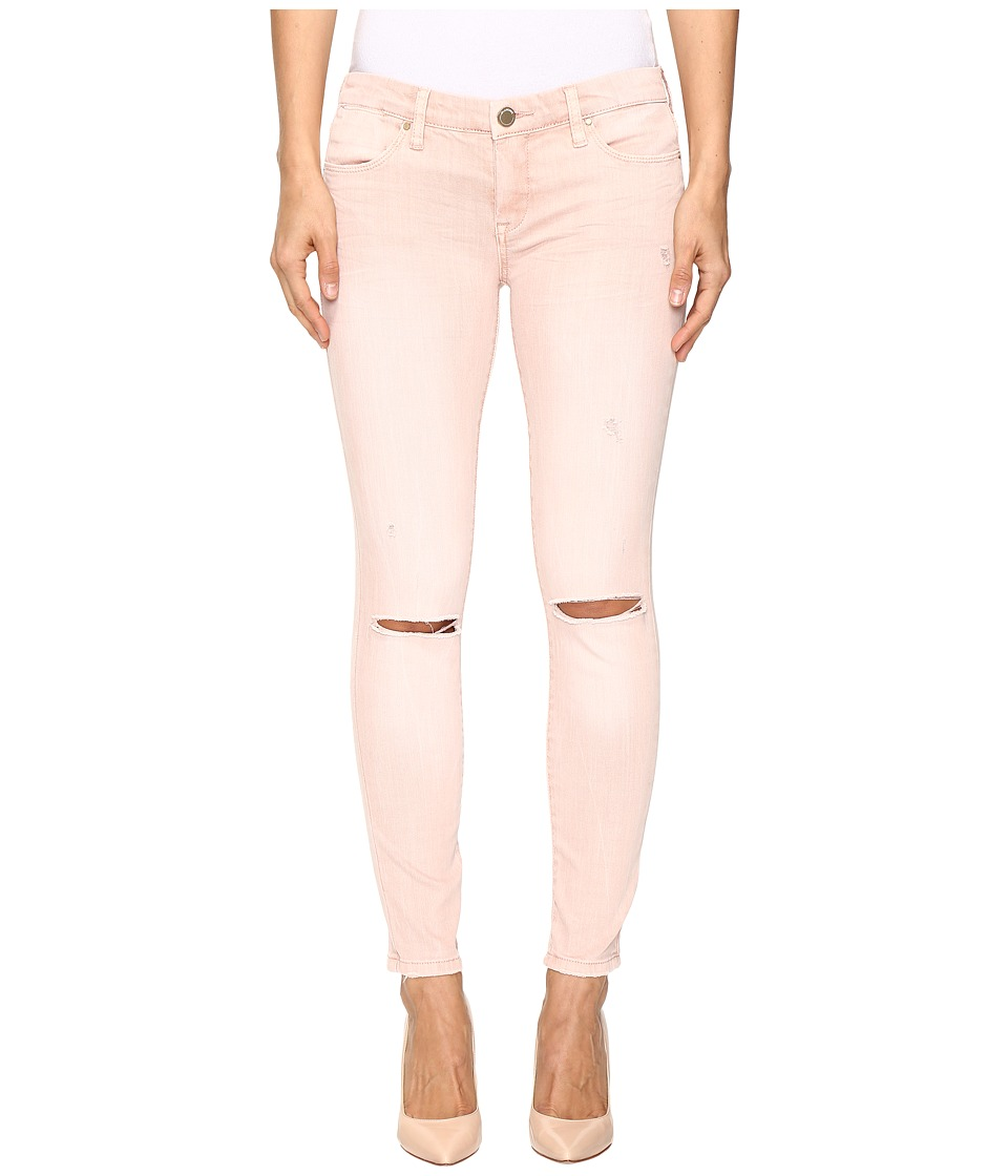 Blank NYC - Blush Pink Distressed Crop Skinny in Blink Pink (Blink Pink) Women's Jeans