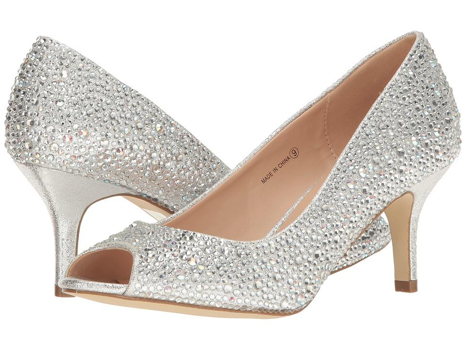 Paradox London Pink Chantal (Silver) High Heels