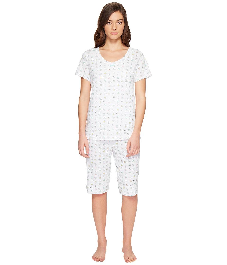 Carole Hochman - Knit Bermuda PJ (Dogs) Women's Pajama Sets