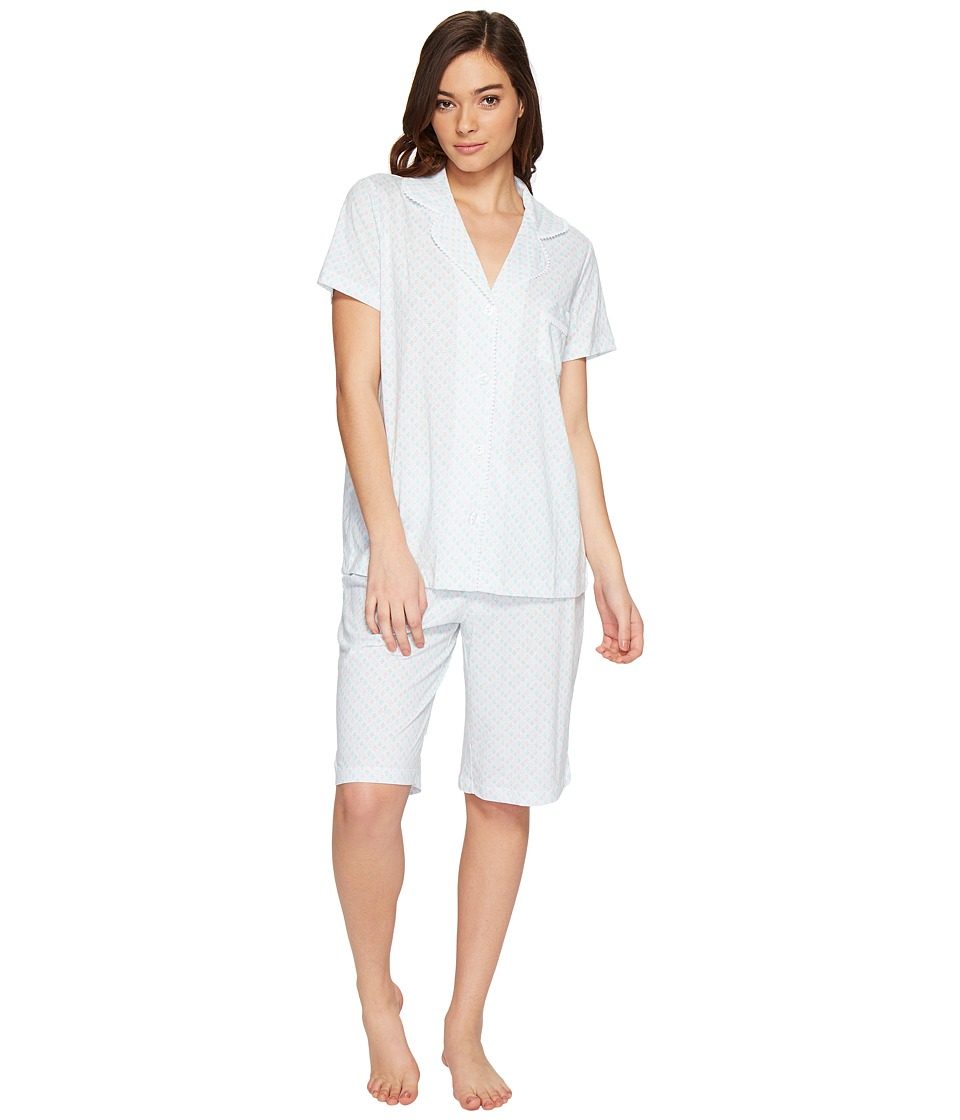 Carole Hochman - Bermuda PJ Set (Diamond Geo) Women's Pajama Sets