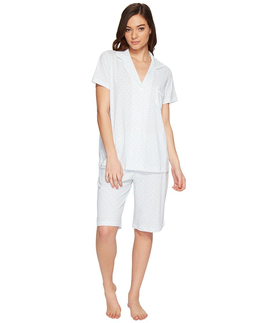 Carole Hochman - Bermuda PJ Set (Diamond Geo) Women's Pajama Sets
