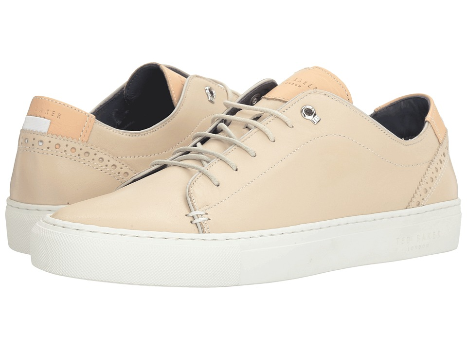 Ted Baker - Kiing (Cream Leather) Men's Shoes