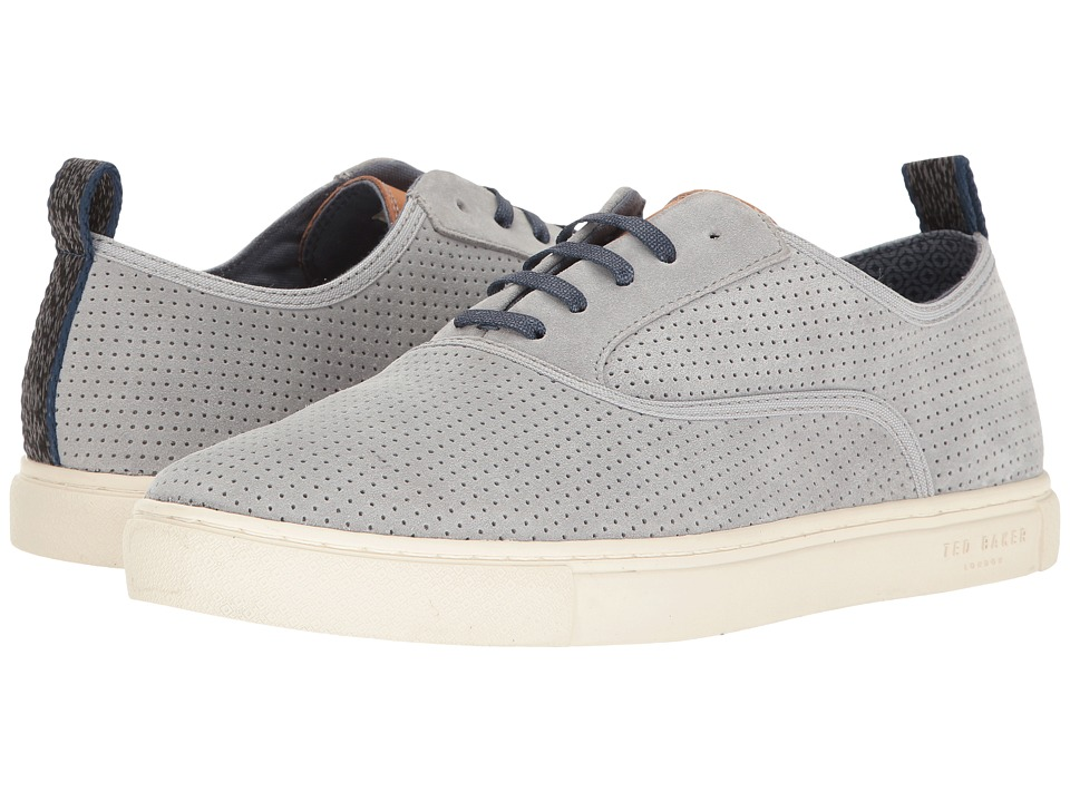 Ted Baker - Odonel (Light Grey Suede) Men's Shoes