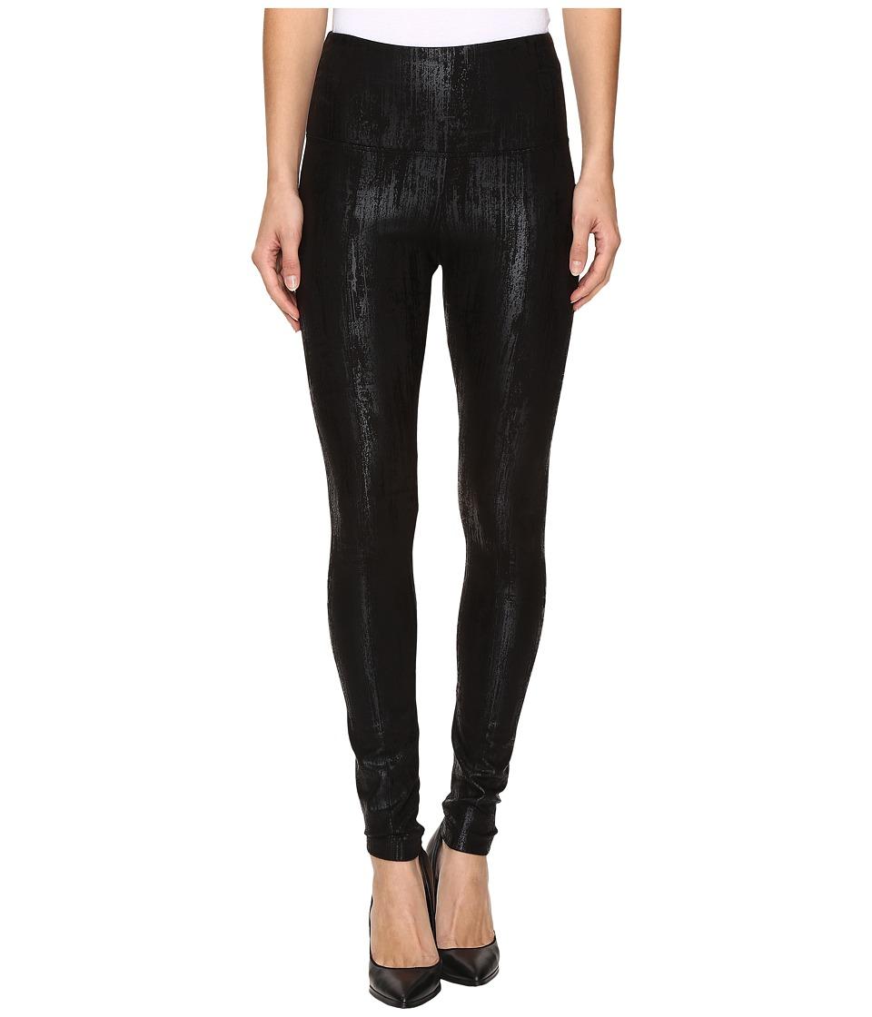 Lysse - Center Seam Ponte Leggings (Liquid Black) Women's Casual Pants