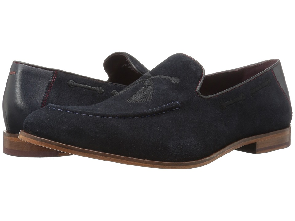 Ted Baker - Cannan (Dark Blue Suede) Men's Shoes