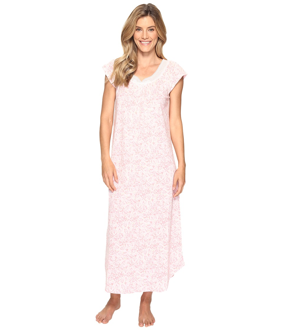 Carole Hochman - Floral Knit Long Gown (Bed Of Mums) Women's Pajama