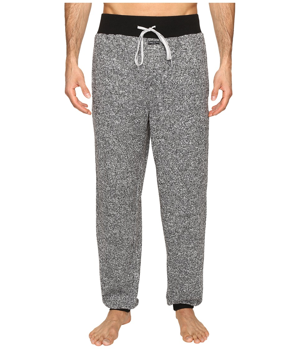 Kenneth Cole Reaction - Sleep Pants (Black Marled) Men's Pajama
