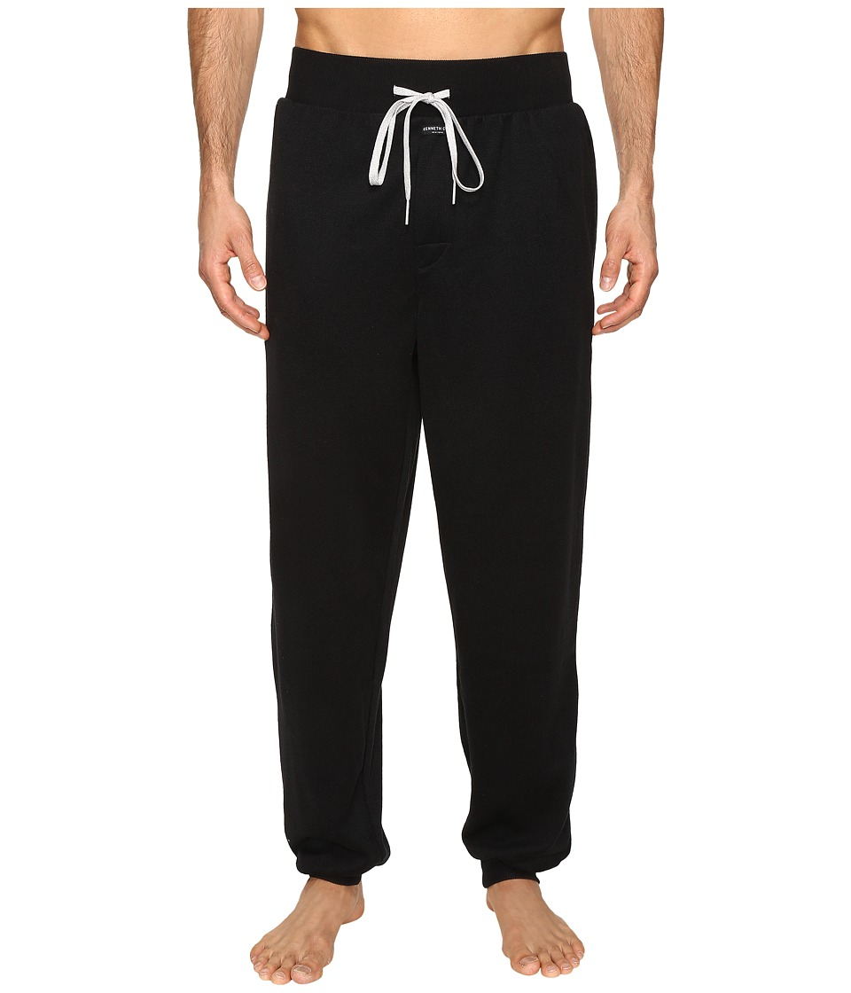 Kenneth Cole Reaction - Sleep Pants (Black Solid) Men's Pajama