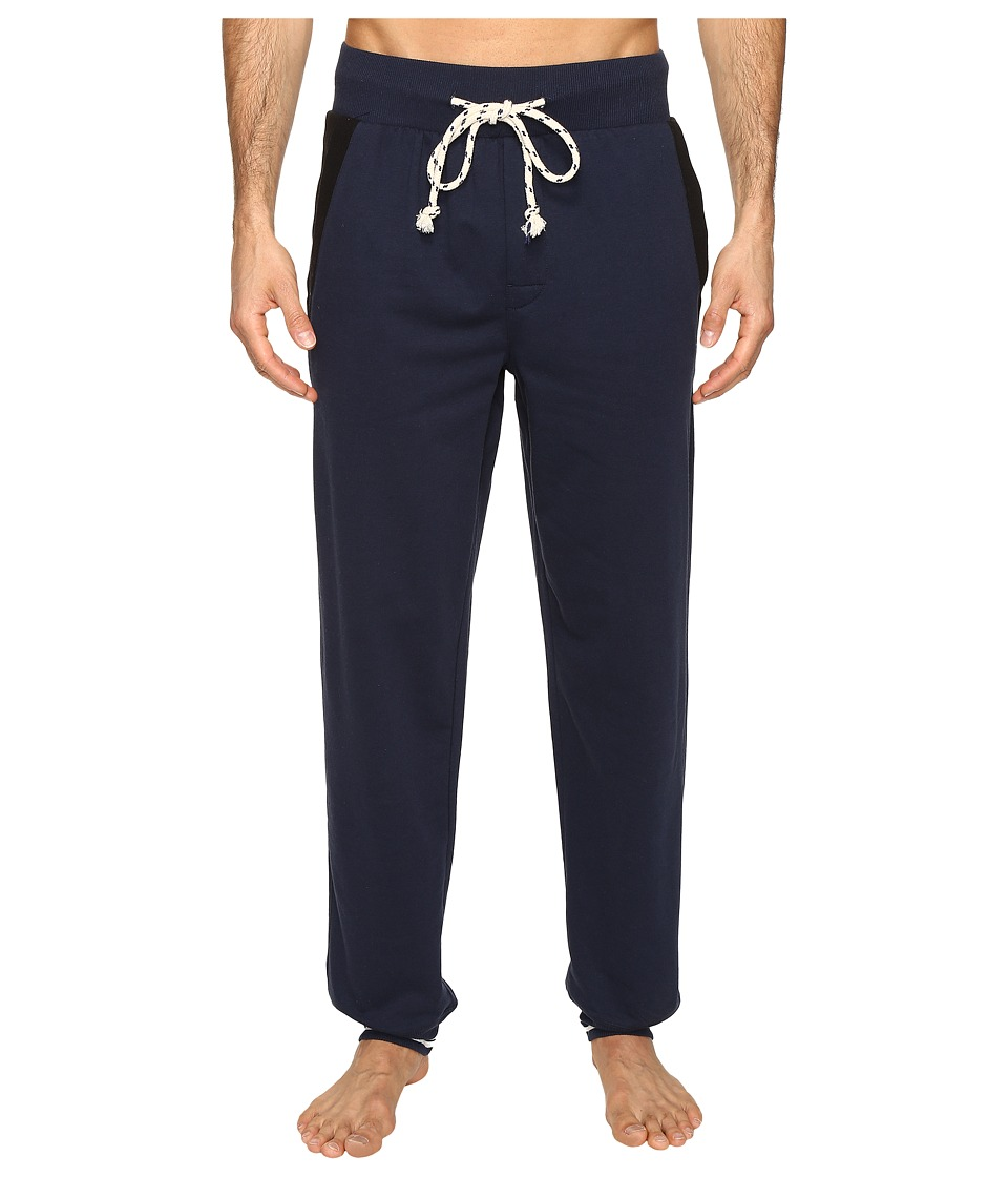 Kenneth Cole Reaction - Sleep Pants - Cuffed Bottom (Navy) Men's Pajama