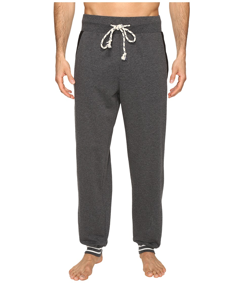 Kenneth Cole Reaction - Sleep Pants - Cuffed Bottom (Dark Grey Heather) Men's Pajama