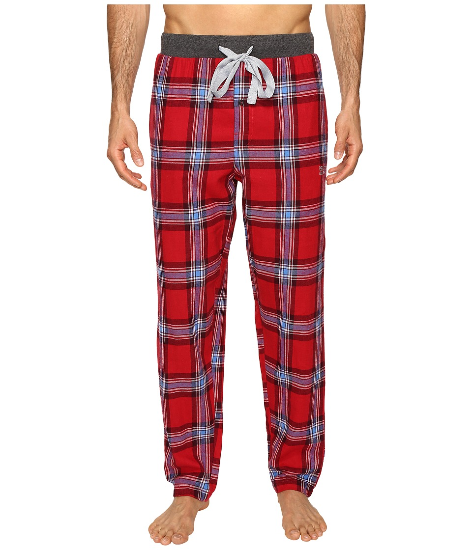 Kenneth Cole Reaction - Open Bottom Pants (Jester Red) Men's Pajama