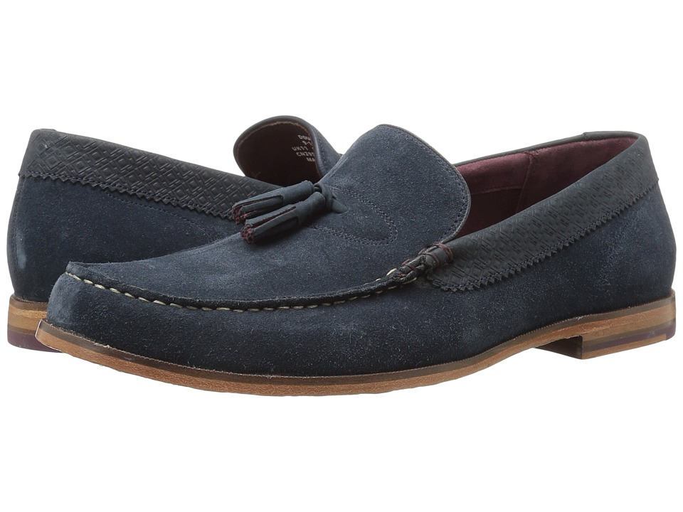 Ted Baker - Dougge (Dark Blue Suede) Men's Shoes