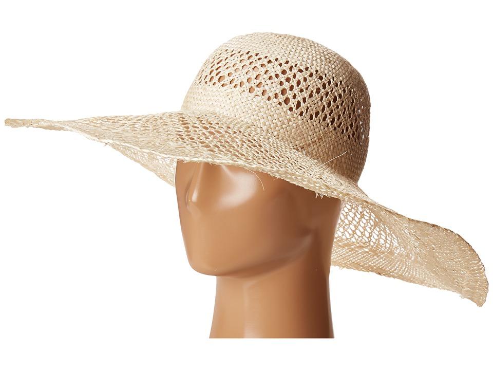 LAUREN Ralph Lauren - Sisal Eyelet Sun Hat (White) Caps