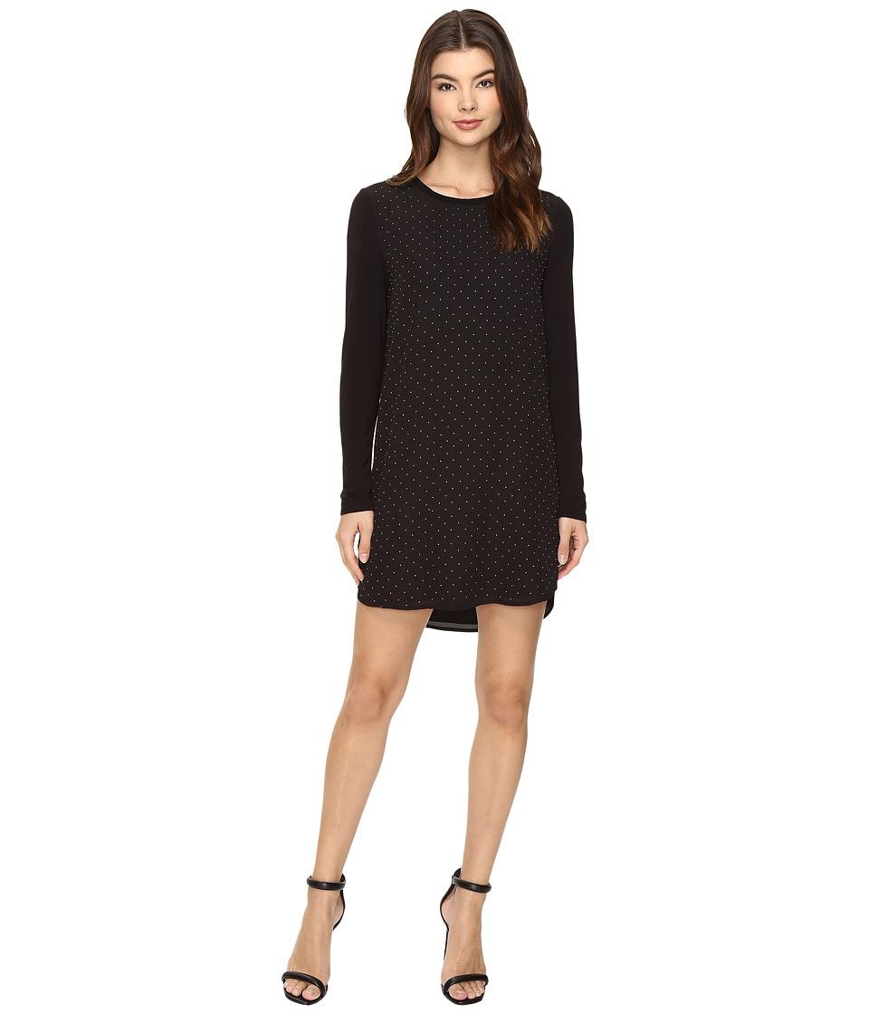 Lysse - Lydia Tunic Dress (Silver Dot) Women's Dress