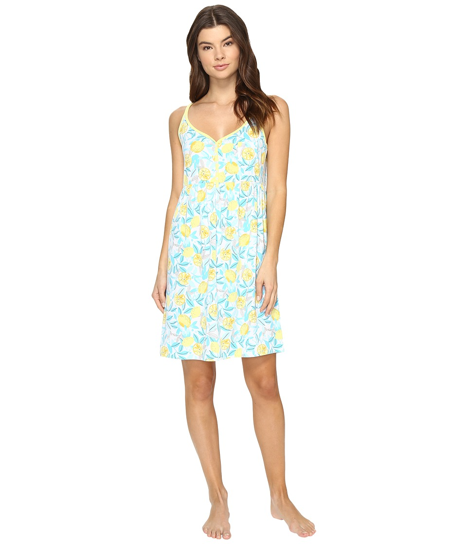 Jockey - Printed Chemise (Lemon Orchard) Women's Pajama