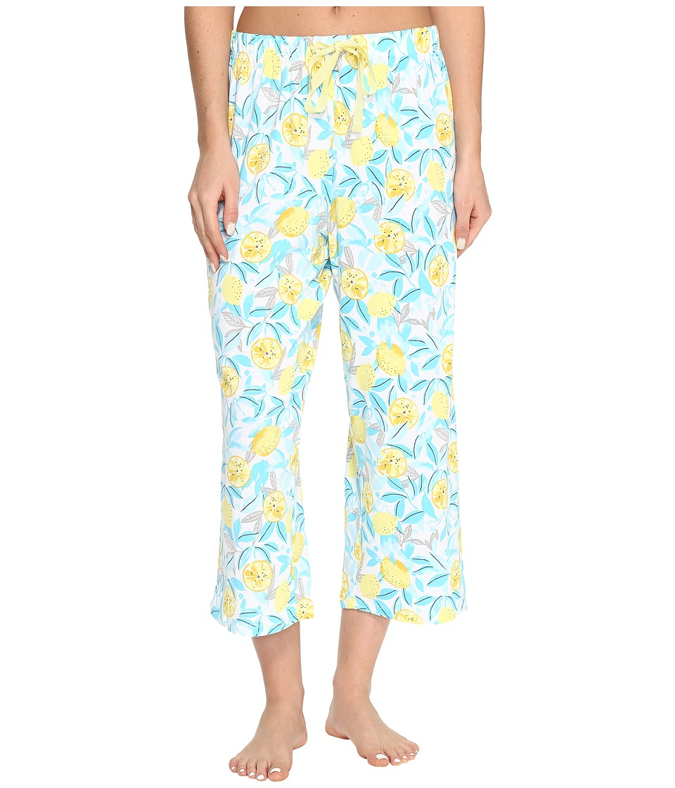 Jockey Printed Capri Pants (Lemon Orchard) Women