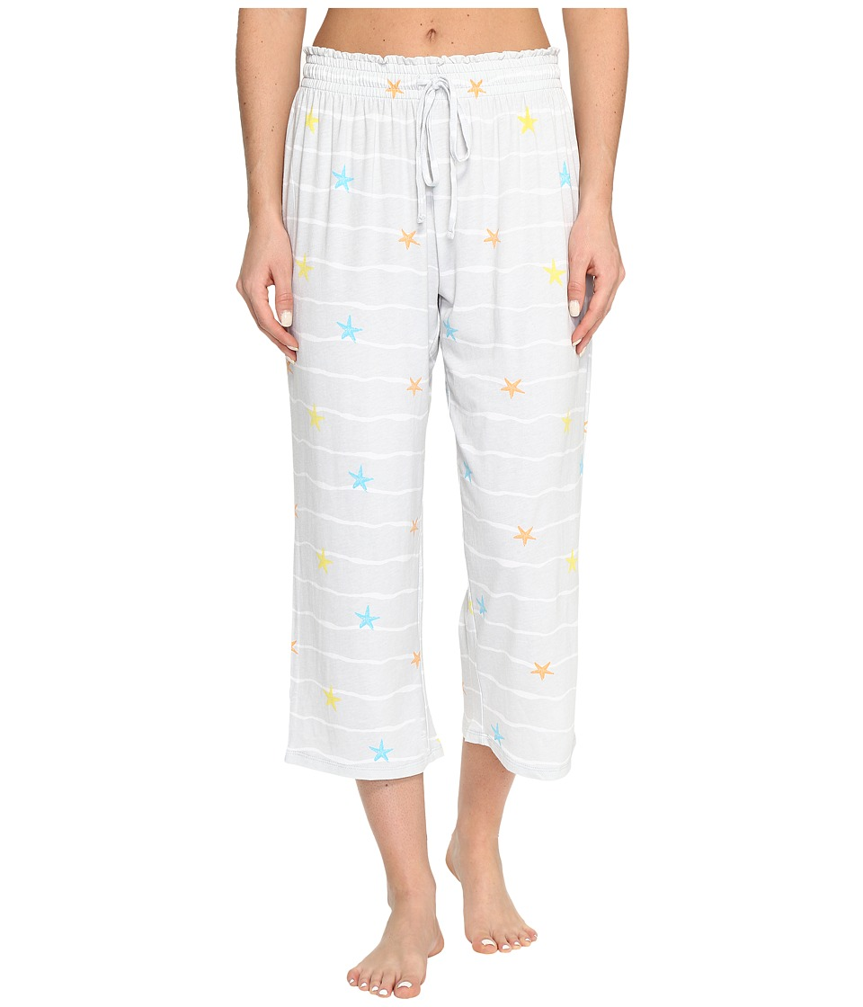 Jockey Printed Capri Pants (Starfish Waves) Women