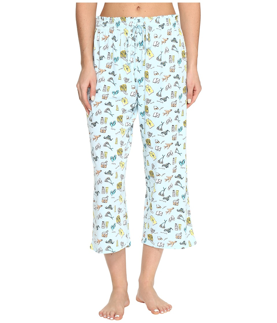 Jockey Printed Capri Pants (Vacation List) Women