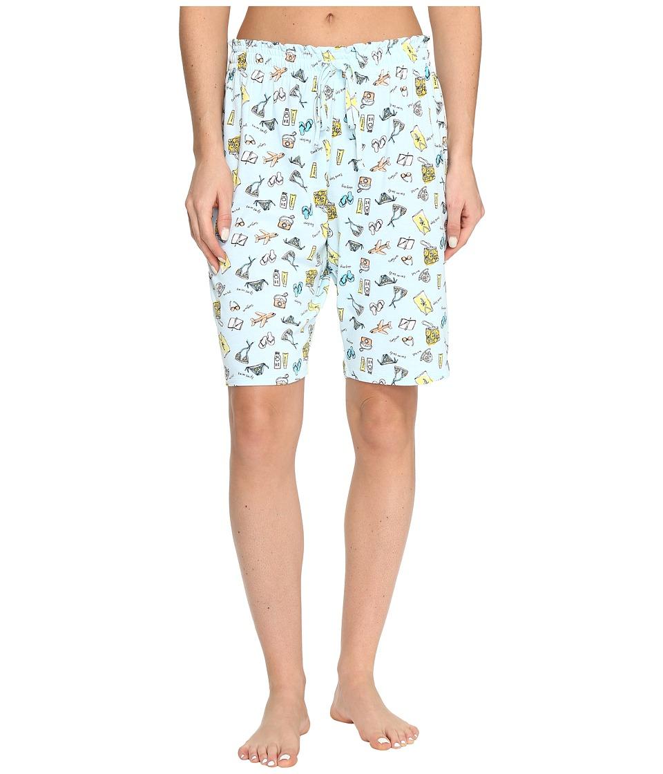Jockey - Printed Bermuda Shorts (Vacation List) Women's Pajama