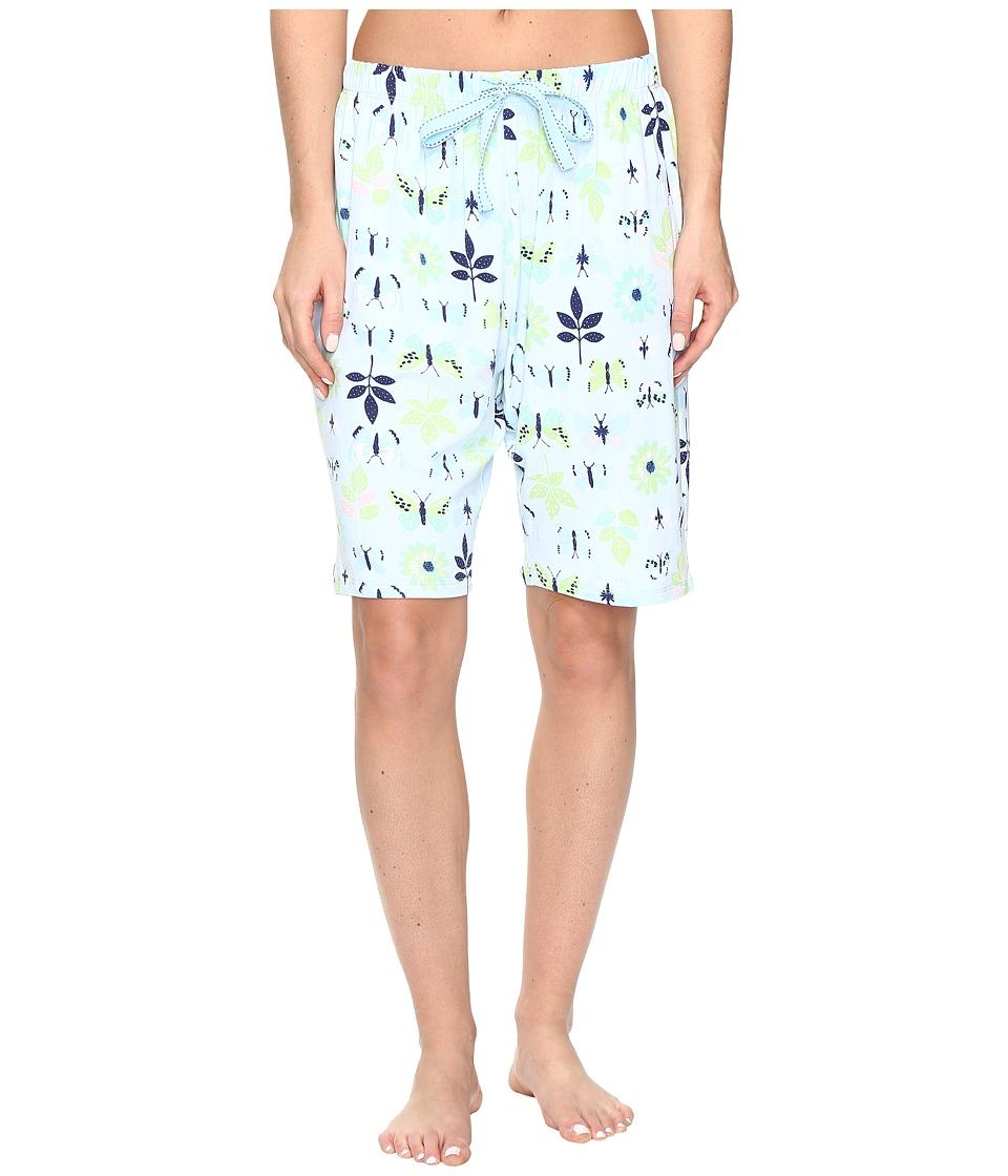 Jockey - Printed Bermuda Shorts (Butterfly Display) Women's Pajama