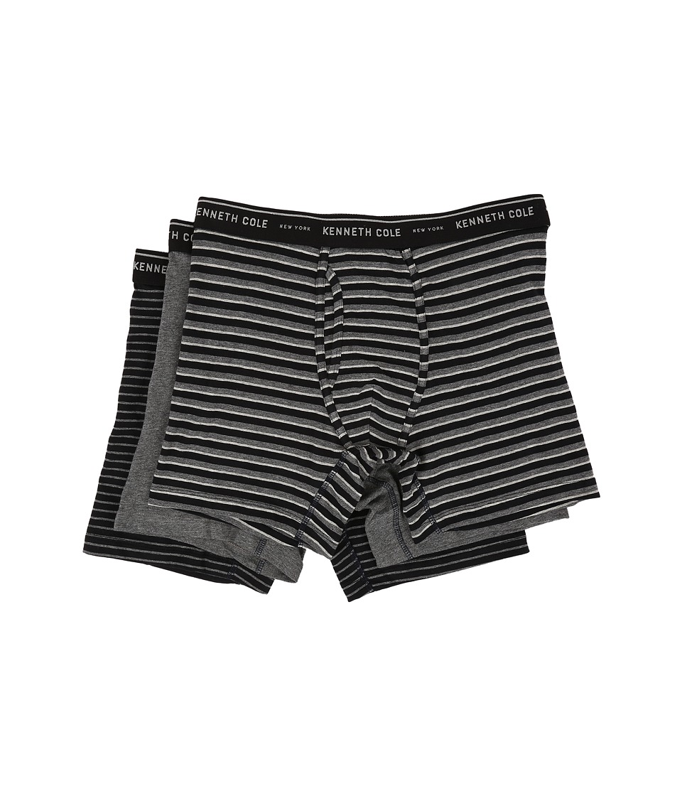 Kenneth Cole Reaction - Boxer Brief (Black Bar) Men's Underwear