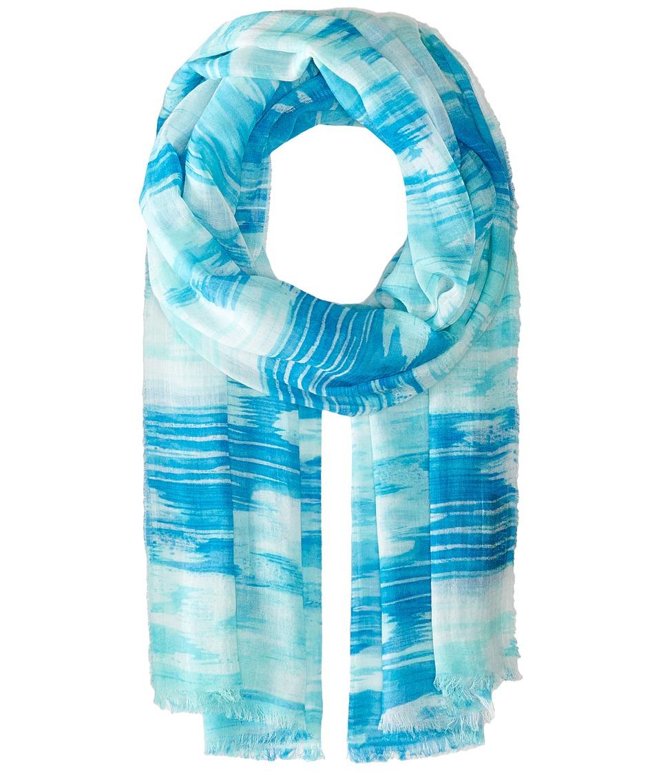 LAUREN Ralph Lauren - Anjali Scarf (Blue) Scarves