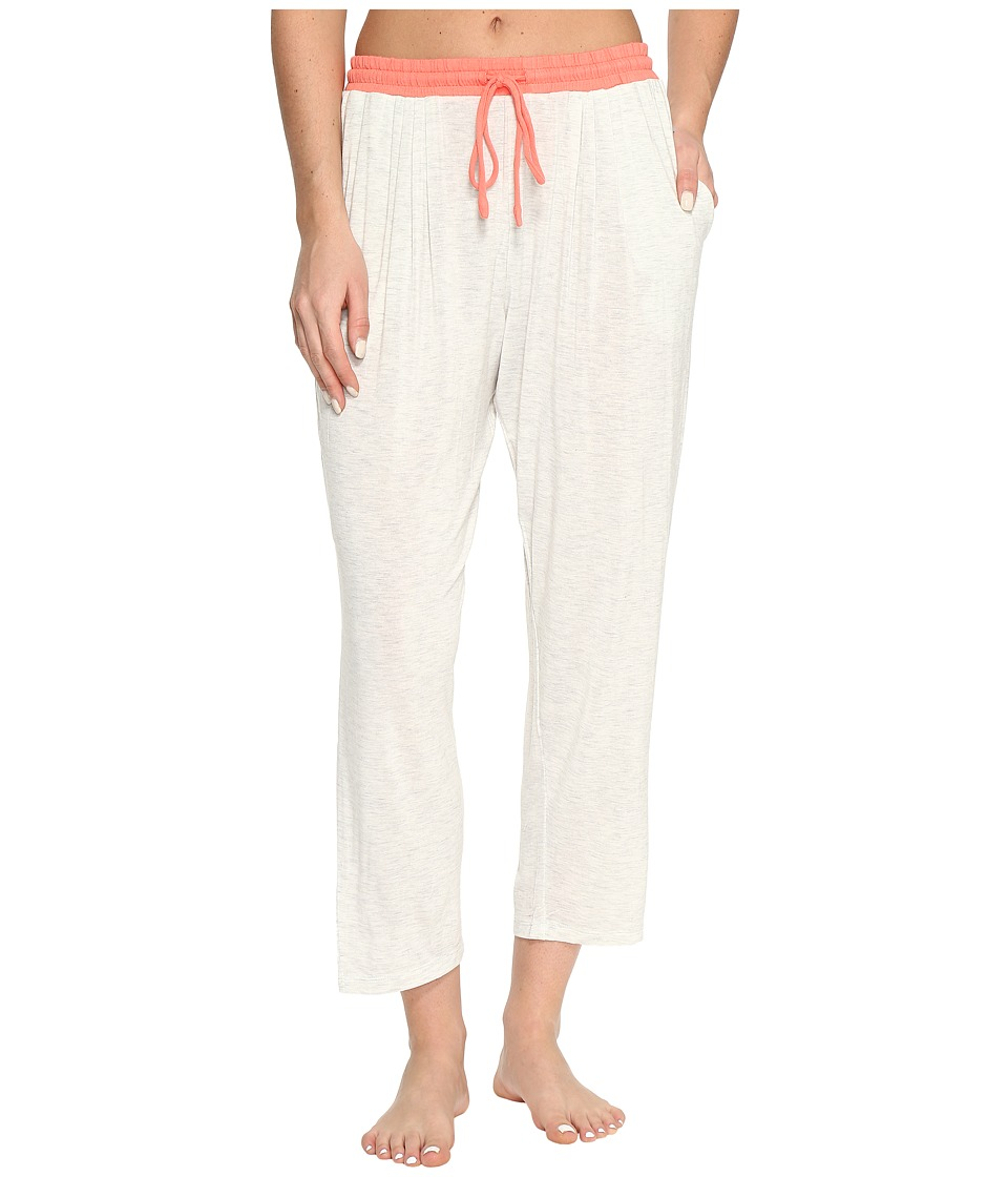 DKNY - Cropped Pants (Grey Heather) Women's Pajama