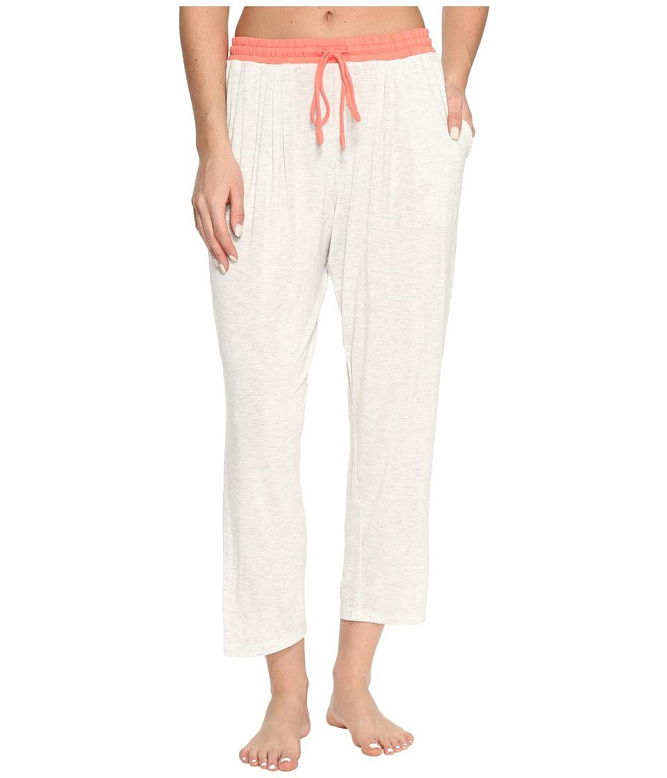 DKNY - Cropped Pants (Grey Heather) Women's Pajama