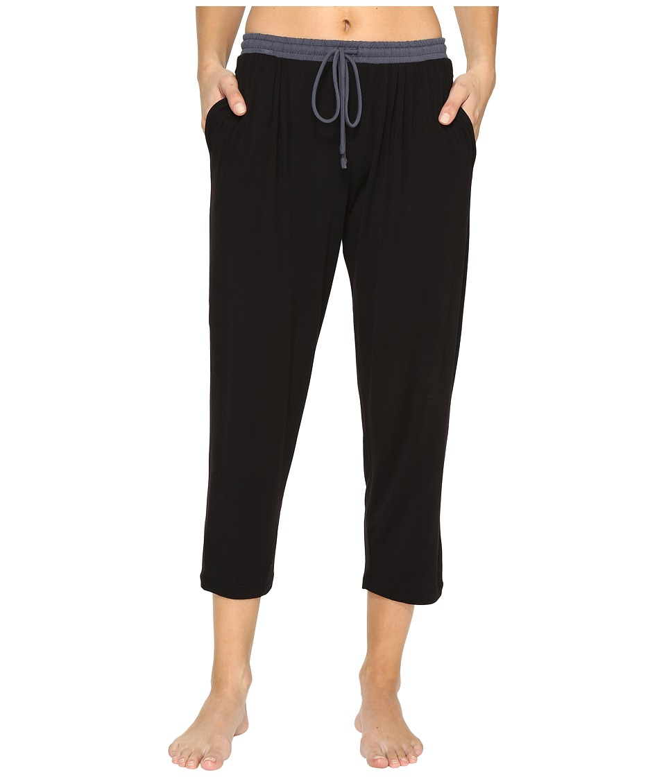 DKNY - Cropped Pants (Black) Women's Pajama