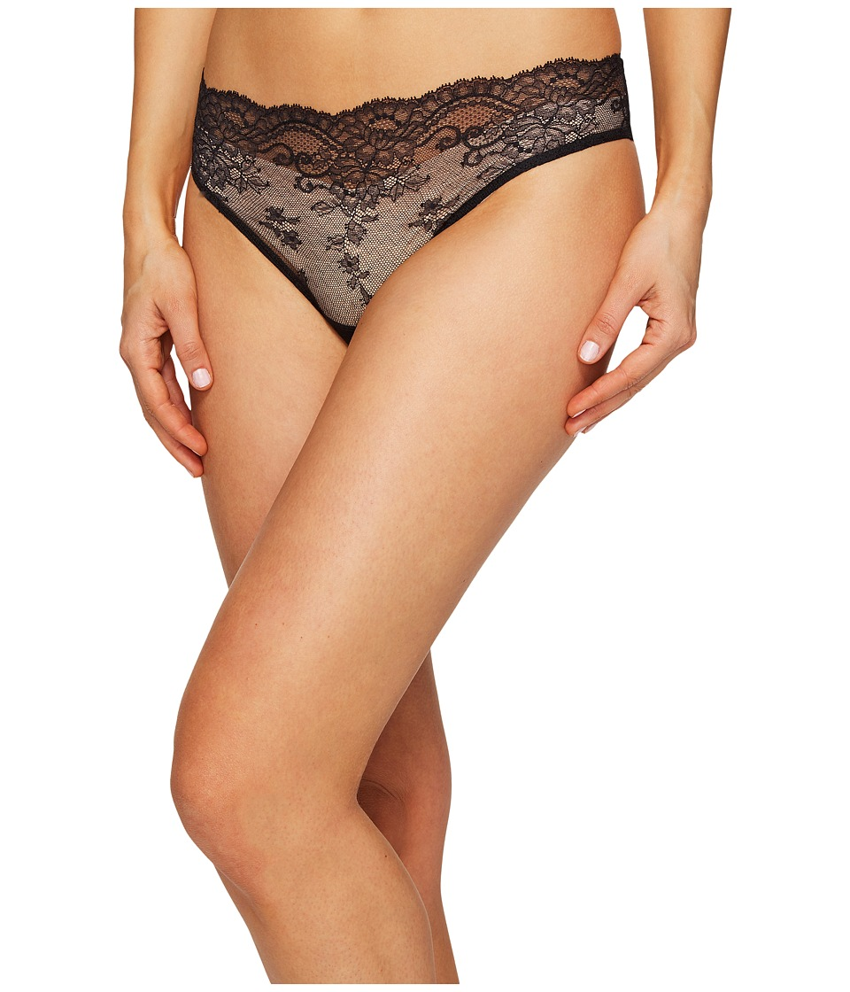 La Perla - Romance Medium Brief (Black) Women's Underwear