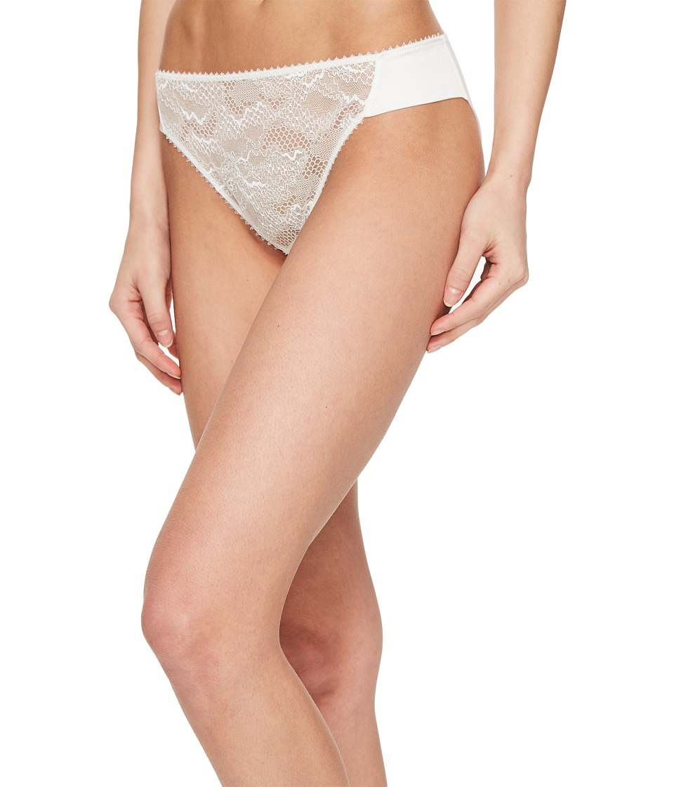 La Perla - Lace Harmony Medium Brief (White Milk) Women's Underwear