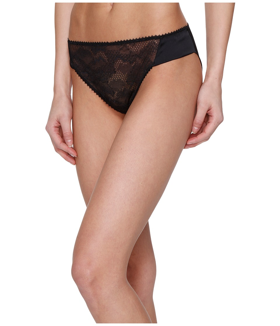 La Perla - Lace Harmony Medium Brief (Black) Women's Underwear
