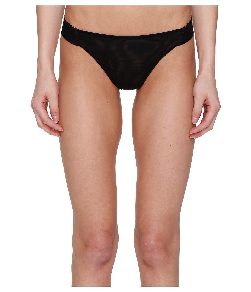 La Perla - Lace Harmony Thong (Black) Women's Underwear