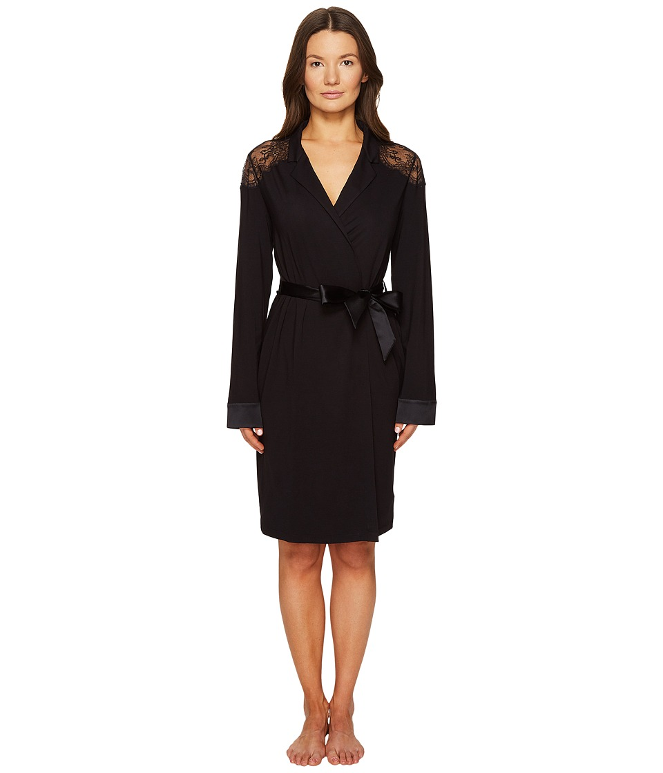La Perla - Romance Robe (Black) Women's Robe