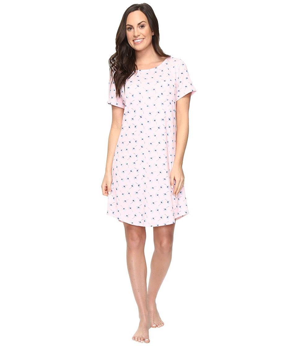 Jockey - Printed Sleepshirt (Ginkgo Leaves) Women's Pajama