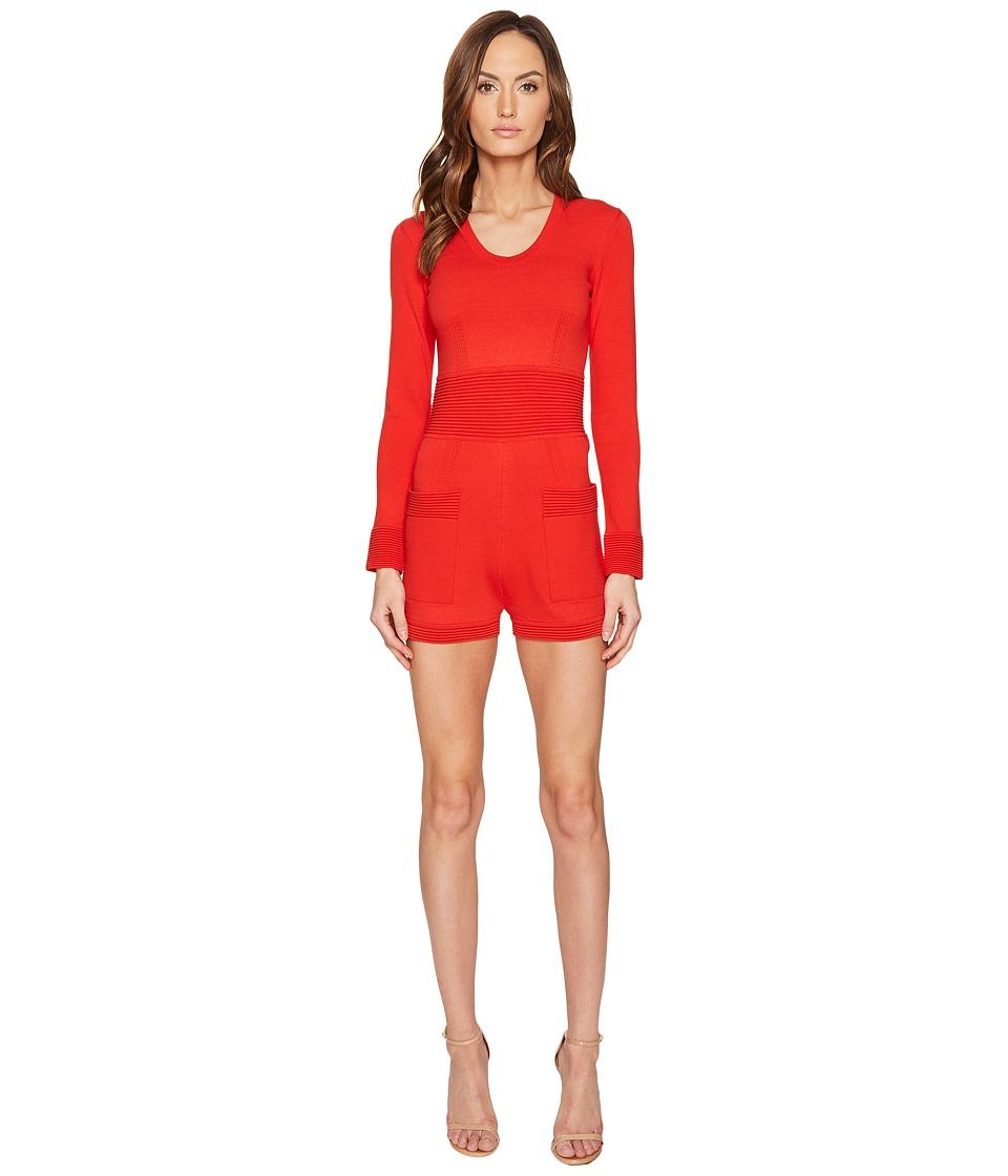 La Perla - Miss Renegad Romper (Red) Women's Jumpsuit & Rompers One Piece