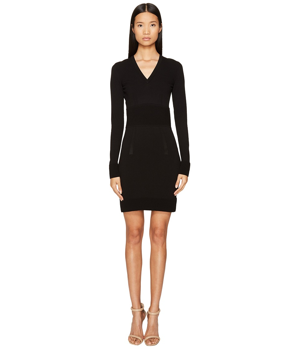 La Perla - Miss Renegade Knit Dress (Black) Women's Dress