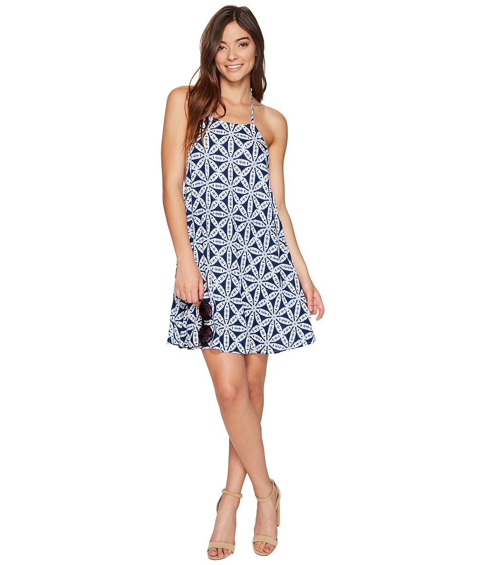 Show Me Your Mumu - Katy Halter Dress (Wagon Wheel Cloud) Women's Dress