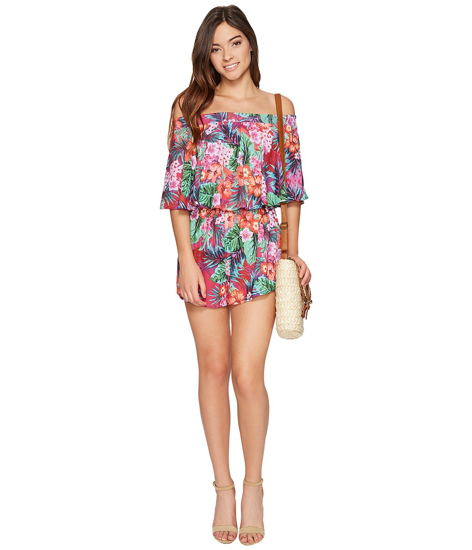 Show Me Your Mumu - Rosarita Romper (Aloha Beautiful) Women's Jumpsuit & Rompers One Piece