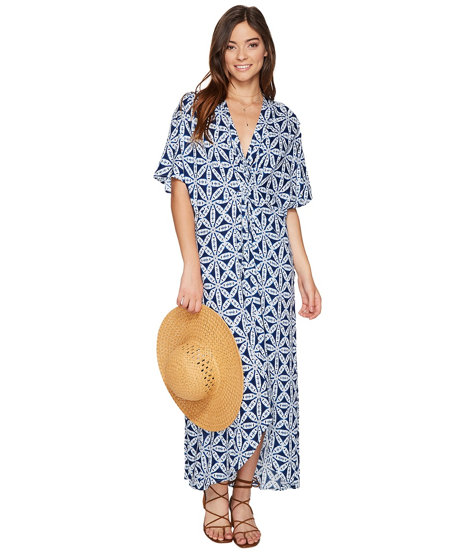 Show Me Your Mumu - Get Twisted Maxi Dress (Wagon Wheel Cloud) Women's Dress