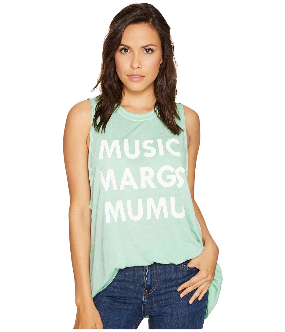 Show Me Your Mumu - Mikey Muscle Tank Top (Music Marg Mumu) Women's Sleeveless
