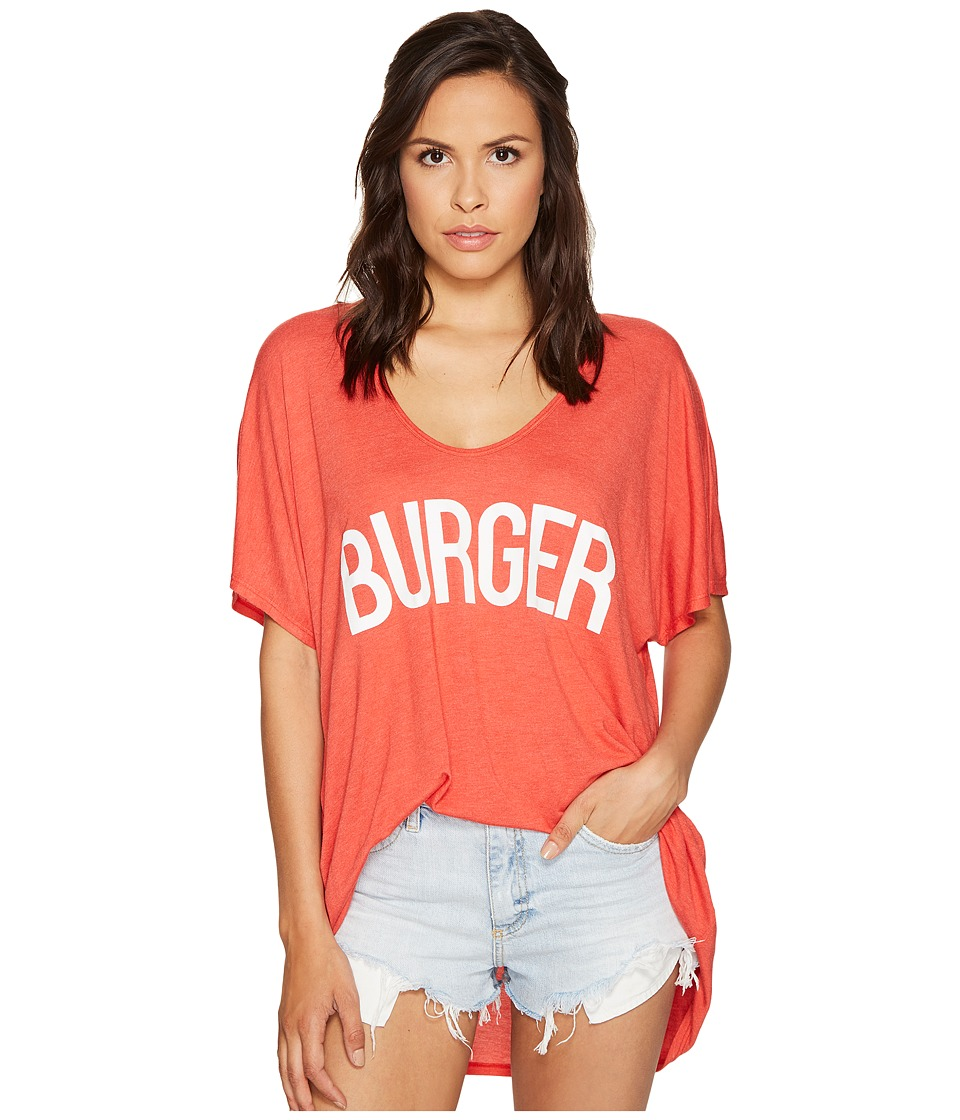Show Me Your Mumu - Benji Tunic Tee (Burger) Women's T Shirt