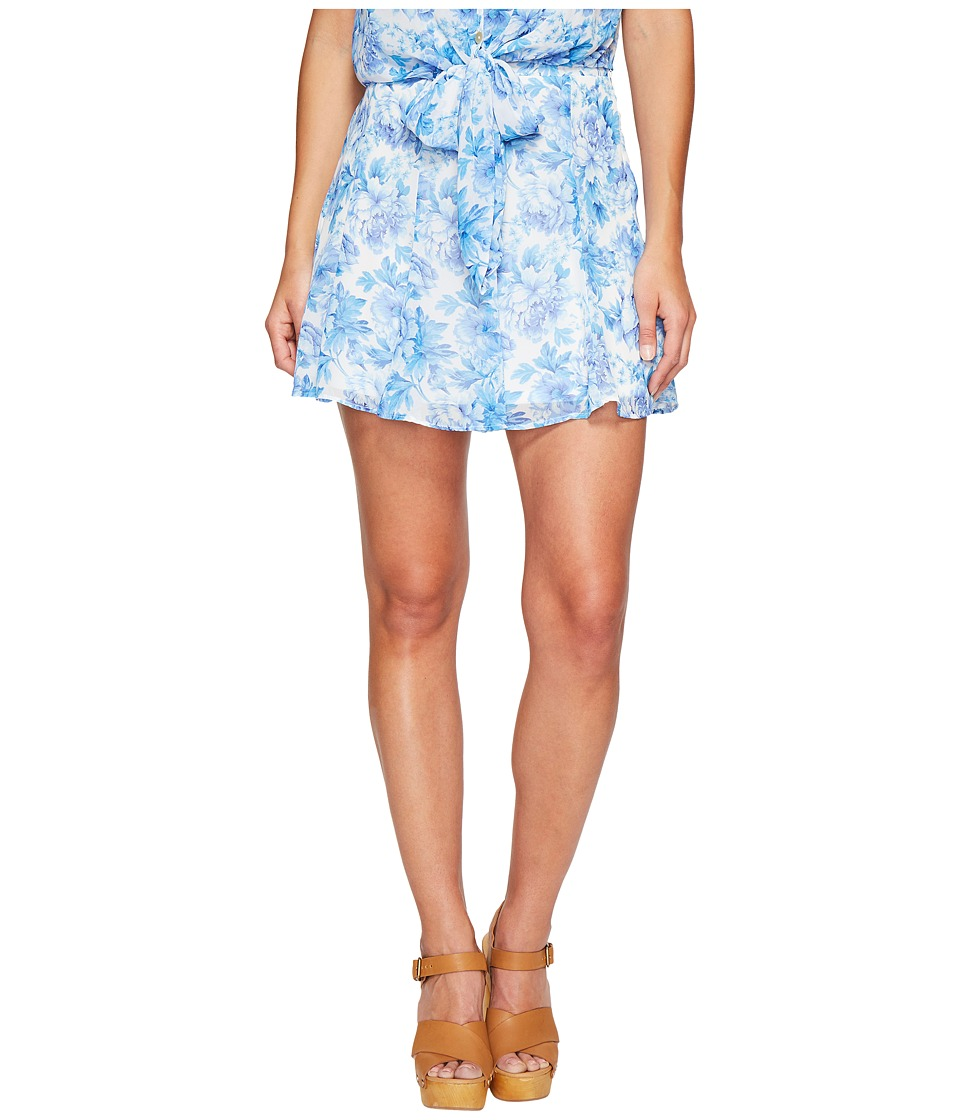 Show Me Your Mumu Skater Stretch Skirt (Mama Blues) Women's Skirt