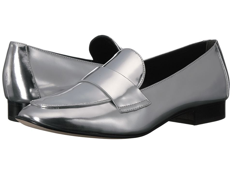 Diane von Furstenberg - Lafayette (Silver Liquid Metallic Leather) Women's Shoes