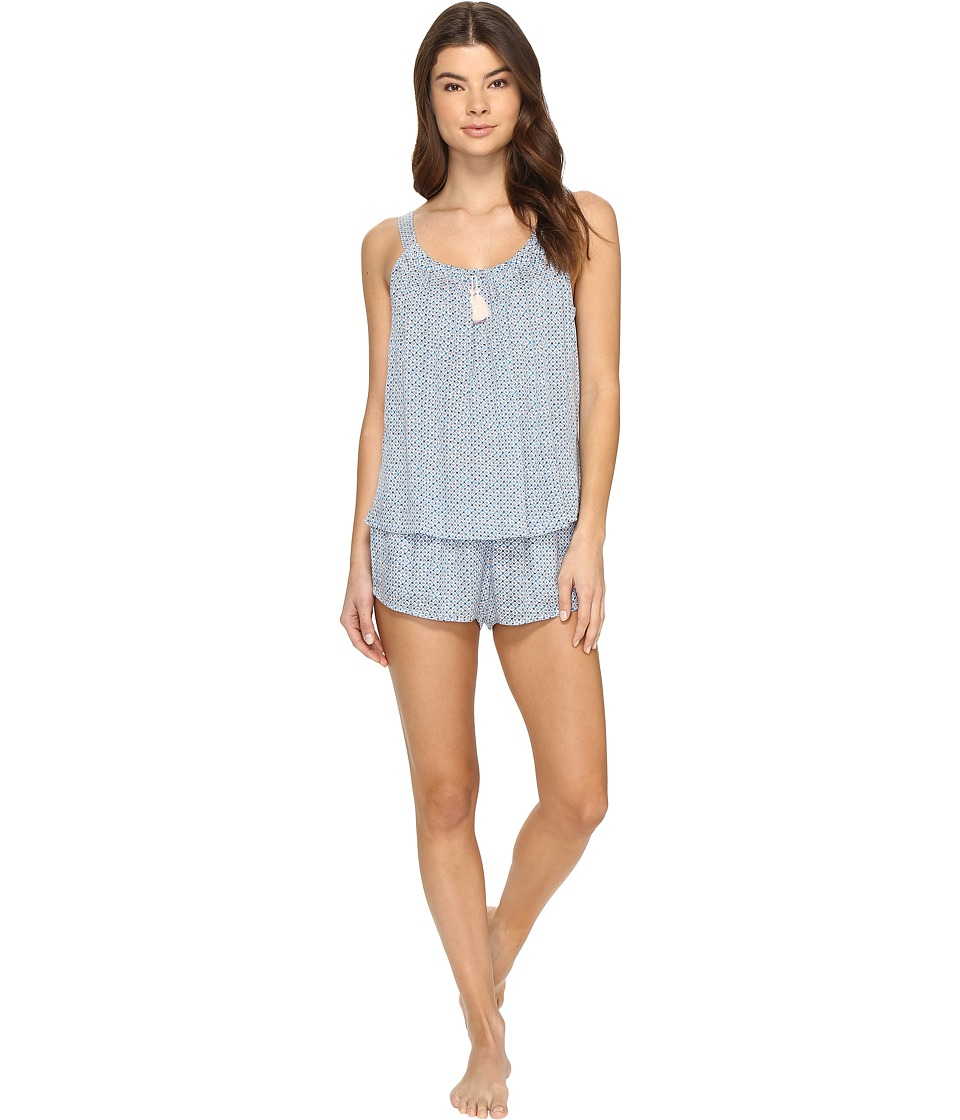 Lucky Brand - Shorty Set (Ditzy Orbit) Women's Pajama Sets