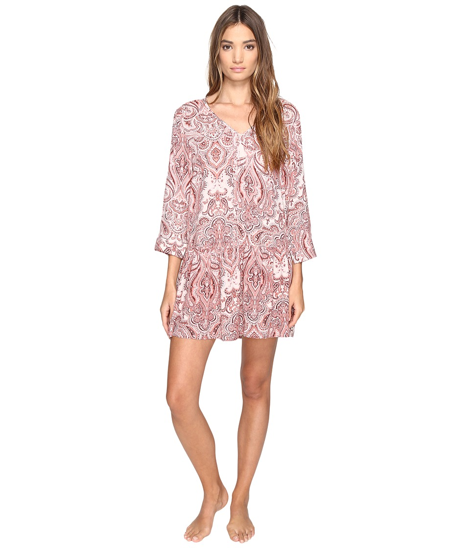 Lucky Brand - Sleep Dress (Damask Paisley) Women's Pajama