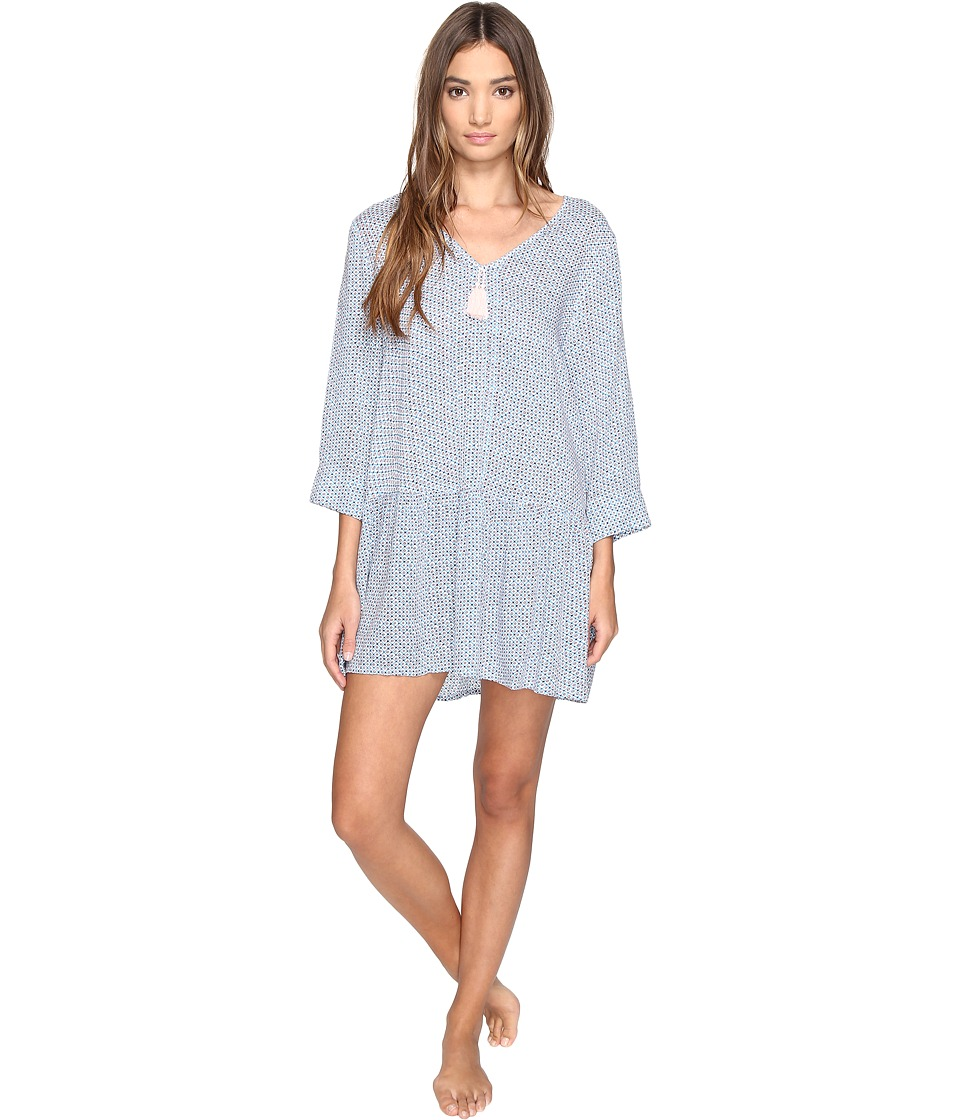 Lucky Brand - Sleep Dress (Ditzy Orbit) Women's Pajama