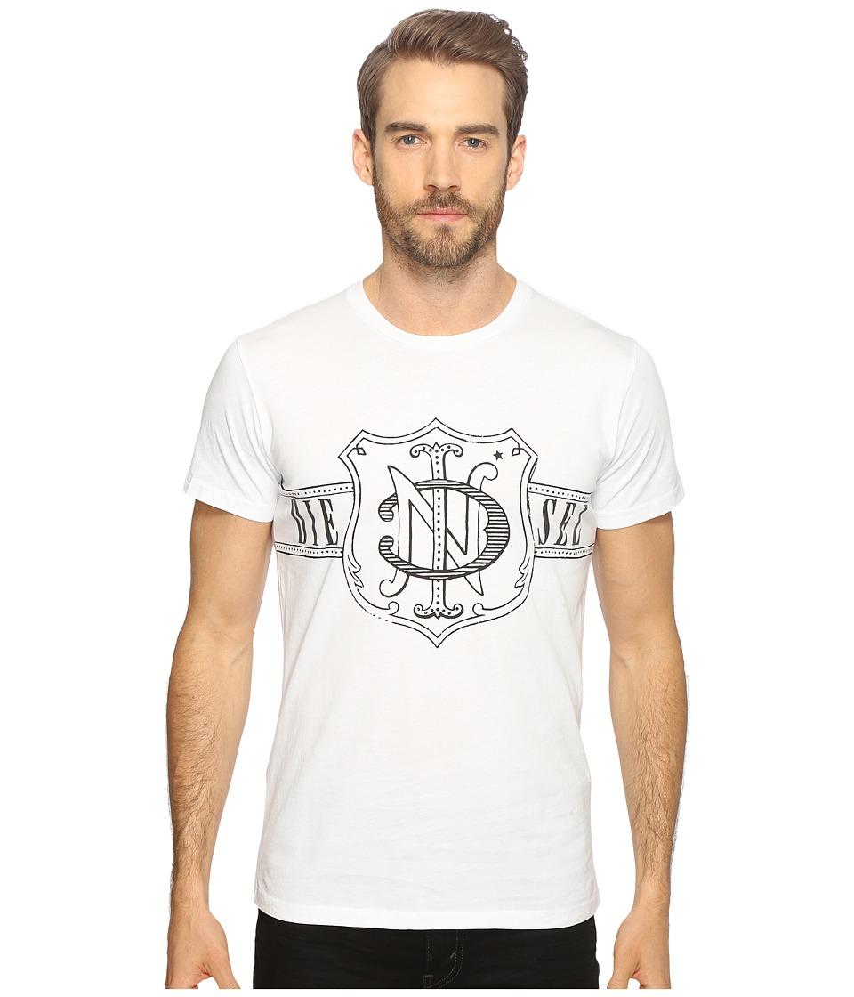 Diesel - T-Diego-MW T-Shirt (White) Men's T Shirt